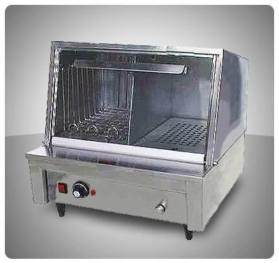 """Calentador de Salchichas y Panes (Eléctrico) """"E.M."""" Mod. CPC-2"""