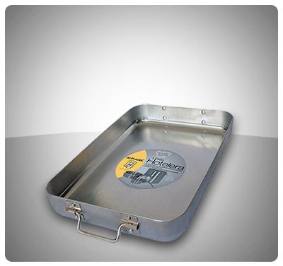 Bandejas para Hornear Profesionales (Aluminio Extra Fuerte)