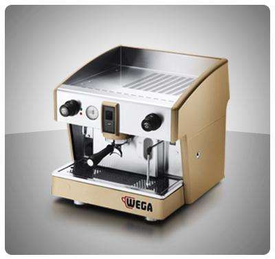 """Máquina Café Espresso 1 Grupo Marca """"Wega"""" Italia Modelo ATLAS 1"""