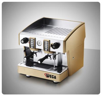 """Máquina Café Espresso 2 Grupos Marca """"Wega"""" Italia Modelo ATLAS COMPACTA"""