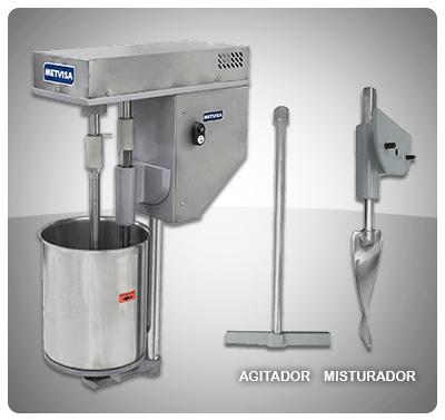 "Batidora para crema de Helados Marca ""Metvisa"" Brasil Mod. BMAI-16"