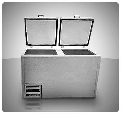 Freezer Congelador Horizontal 25 Pies  (2 Tapas) Mod. C-25