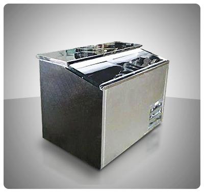 Enfriador de Botellas 2 Puertas deslizantes Mod E-2T  Capacidad 600 Botellas