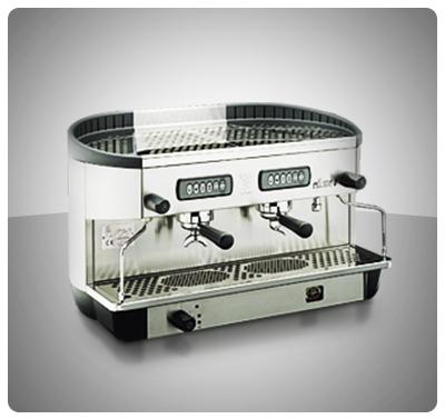 "Máquina Café Espresso 2 Grupos Marca ""Bezzera"" Italia  Modelo ELLISSE-P2G"