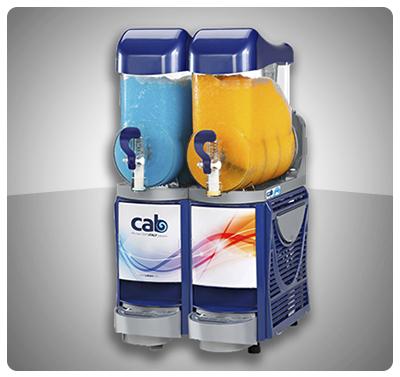 """Granizador y Enfriador de Bebidas (2 Tanques)  """"Cab"""" Italia - Doble Función  Mod. FABY II"""
