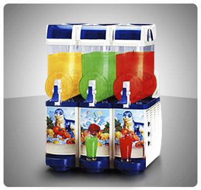 """Dispensador de Bebidas - 3 Tanques 42 Lts  """"Cab"""" Italia Mod. FAST-COLD III"""