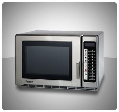 HORNO MICROONDAS COMERCIAL 1200W - MARCA AMANA MOD. RFS12TS