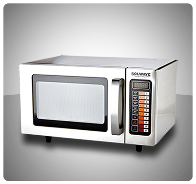 HORNO MICROONDAS COMERCIAL 1000W - MARCA SOLWAVE MOD. MW1000SS