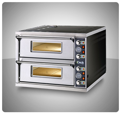 HORNO PARA PIZZA - MARCA MORETTI MOD. Pizzy Duo 60.60