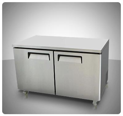 """Mesa de Trabajo Congelación (2 Puertas) """"Kiema"""" Mod. MGF-8407"""