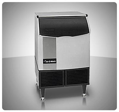 """Fabricador de Hielo 108 Kg (Cubos) Contenedor Incorporado  """"Ice O Matic"""" Usa Mod. ICEU-220FA"""