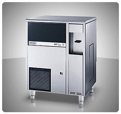 """Fabricador de Hielo 42 Kg (Cubos) Con Dispensador de Agua Fría Contenedor Incorporado """"Brema"""" Italia – IW-45 ICE WATER"""