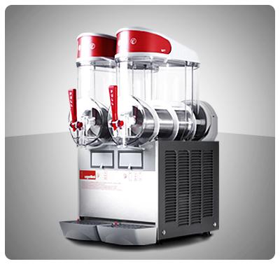 """Granizador de Bebidas (2 Tanques)  """"Ugolini"""" Italia Mod. MT-2UL"""