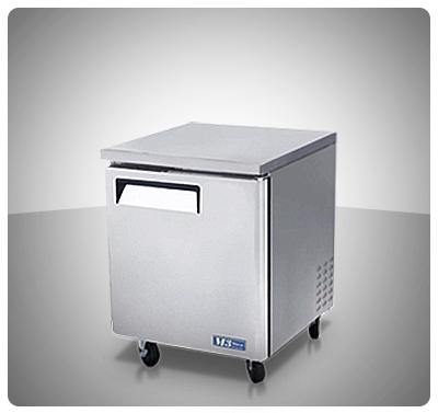 "Mesa de Trabajo Refrigerada (1 Puerta) ""Turbo Air"" usa Mod. MUR-28"