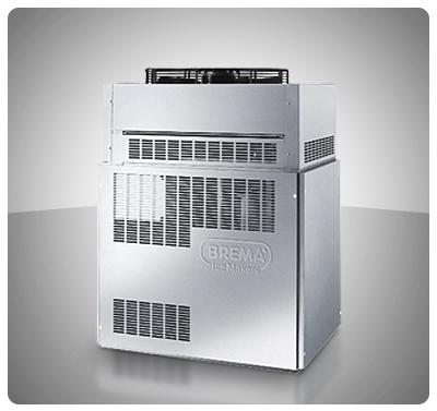 """Fabricador Modular de Hielo 2.200 Kg (Escamas) Contenedor Modular - """"Brema"""" Italia Mod. MUSTER-2000"""