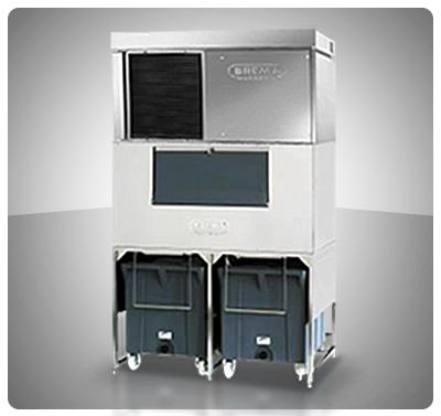 """Fabricador Modular de Hielo 900 Kg (Escamas) Contenedor Modular - """"Brema"""" Italia Mod. MISTER-800*"""