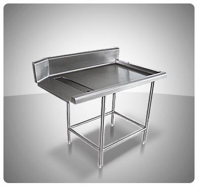 Mesas para Vajilla Limpia (Utilizable c/Lava Vajillas)