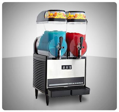 """Granizador comercial de Bebidas (2 Tanques)  """"Omega"""" Usa  Mod. OFS-20"""