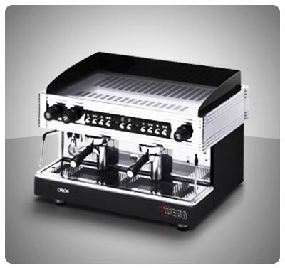"""Máquina Café Espresso 2 Grupos Marca """"Wega"""" Italia Modelo ORION GOLD"""