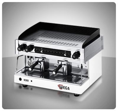 """Máquina Café Espresso 2 Grupos Marca """"Wega"""" Italia Modelo ORION G2"""