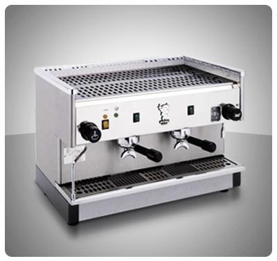"""Máquina Café Espresso 2 Grupos Marca """"Bezzera"""" Italia Modelo PB2000-P2G"""