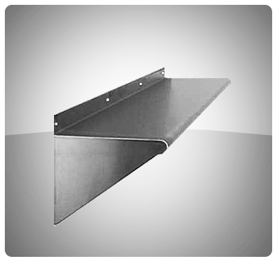 Repisas de pared (45 cm de Profundidad) Mod. REP 45