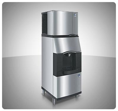 """Fabricador Dispensador de Hielo y Agua Fría 200 Kg (Hielo Cubos) """"Manitowoc"""" Usa  Mod. SFA-191"""