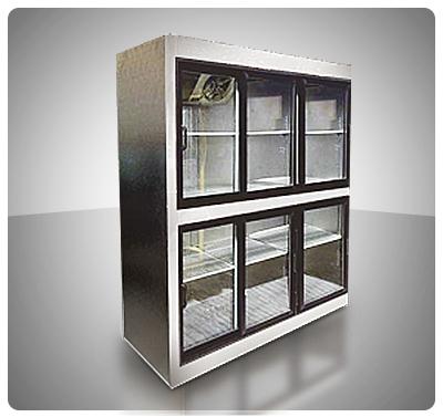 Nevera Vitrina Refrigerada (6 Puertas deslizantes) Mod. V6P-C
