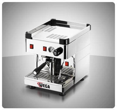 """Máquina Café Espresso 1 Grupo Marca """"Wega"""" Italia Modelo MININOVA"""