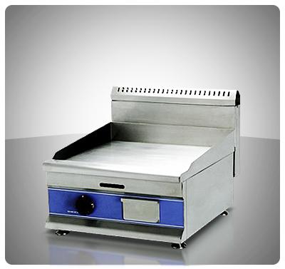 "Plancha Lisa a Gas 50 cm (Sobre Tope)  ""Iboia"" Mod. PLA-G140A"