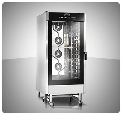 """Horno Convección Eléctrico Panadería Pastelería """"Unox"""" Italia – Modelo Baker-Lux (con Vapor) Mod. XBC-1605E"""