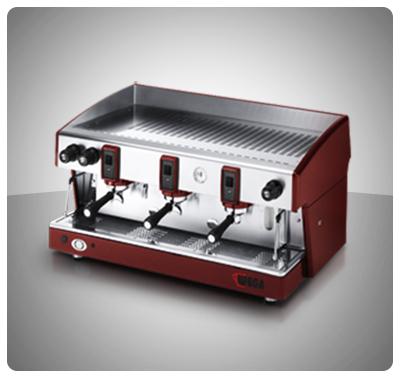 """Máquina Café Espresso 3 Grupos Marca """"Wega"""" Italia Modelo ATLAS 3"""