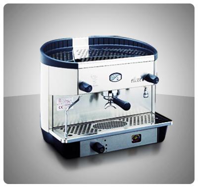 "Máquina Café Espresso 1 Grupo Marca ""Bezzera"" Italia Modelo ELLISSE-P1G"