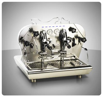 """Máquina Café Espresso 2 Grupos Marca """"Bezzera"""" Italia  Modelo GALATEA-P2G """"Retro iluminada"""""""