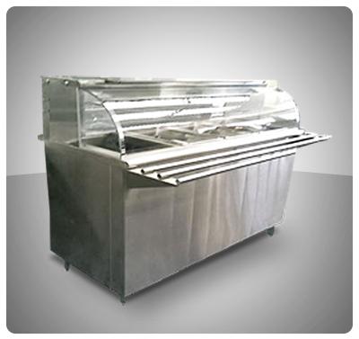 """Módulo Arepero  Frío Para bandejas """"Gastronorm"""" (32 x 17 cm)"""