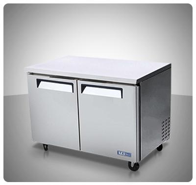 """Mesa de Trabajo Congelación (2 Puertas) """"Turbo Air"""" usa Mod. MUF-48"""