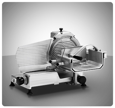 "Rebanadora vertical para carne 300 mm Marca ""Senzani"" Italia  Modelo TGL300-V"
