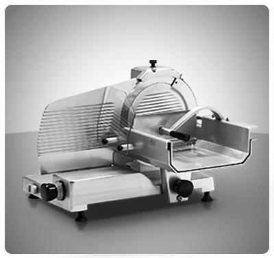 "Rebanadora vertical para carne 350 mm Marca ""Senzani"" Italia  Modelo TGL350-V"