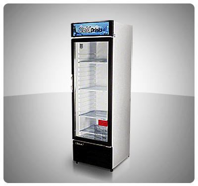 """Nevera Vitrina Refrigerada (1 Puerta – 14 Pies) """"TurboAir"""" Usa Mod. TGM-14RV"""