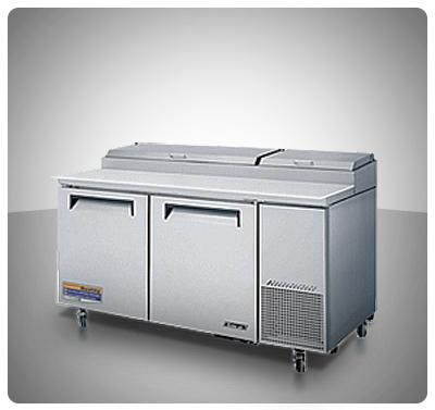 """Mesa para preparación de Pizzas (2 Puertas) """"Turbo Air"""" usa  Mod. TPR-67SD"""