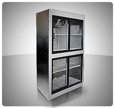 Nevera Vitrina Refrigerada (4 Puertas deslizantes) Mod. V4P-C
